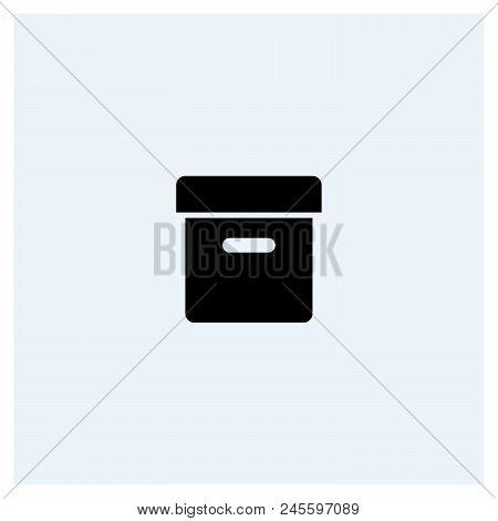 Box Icon Vector Icon On White Background. Box Icon Modern Icon For Graphic And Web Design. Box Icon