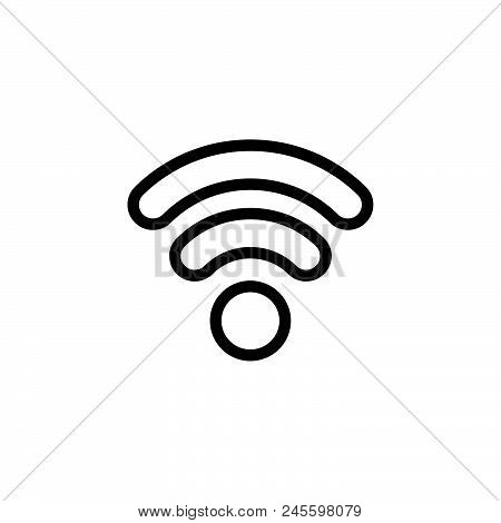 Internet Vector Icon On White Background. Internet Modern Icon For Graphic And Web Design. Internet