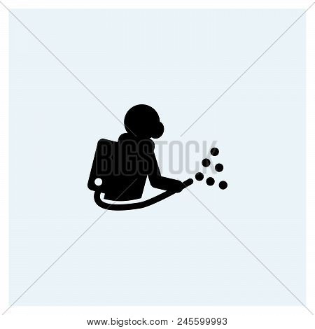 Pest Control Icon Vector Icon On White Background. Pest Control Icon Modern Icon For Graphic And Web