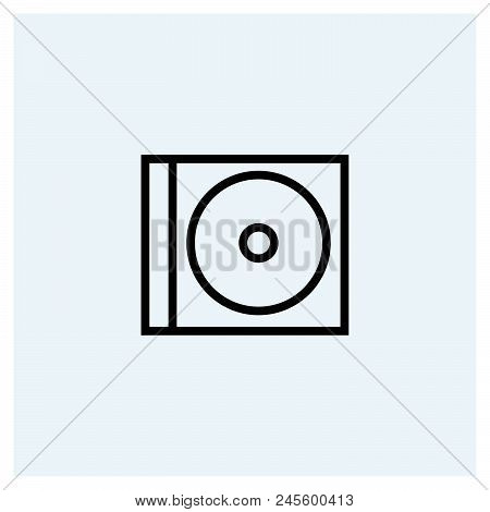 Cd Icon Vector Icon On White Background. Cd Icon Modern Icon For Graphic And Web Design. Cd Icon Ico