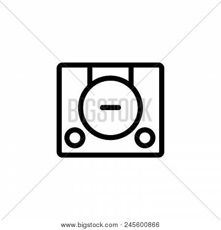 Game Console Vector Icon On White Background. Game Console Modern Icon For Graphic And Web Design. G