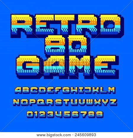 Retro Computer Game Vector & Photo (Free Trial) | Bigstock