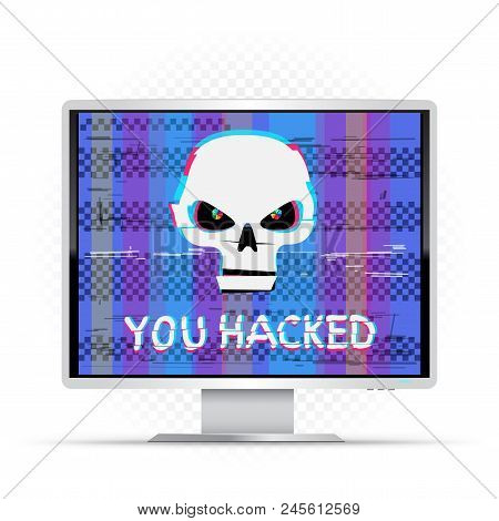 You Hacked Text On Vector & Photo (Free Trial) | Bigstock