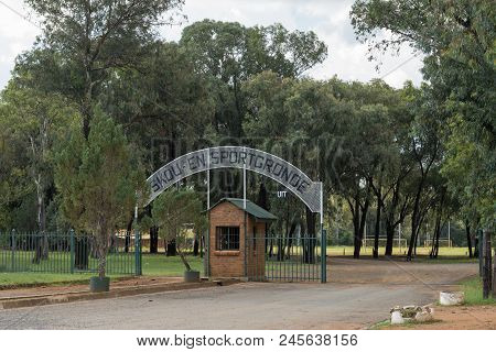 Dewetsdorp, South Africa - April 1, 2018: The Entrance Of The Show And Sports Grounds In Dewetsdorp