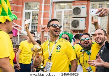 Rostov-on-don, Russia - 17 June, 2018 Match Day At Fifa World Cup Russia 2018 Host City Rostov-on-do