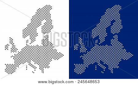 Dot European Union Vector & Photo (Free Trial) | Bigstock