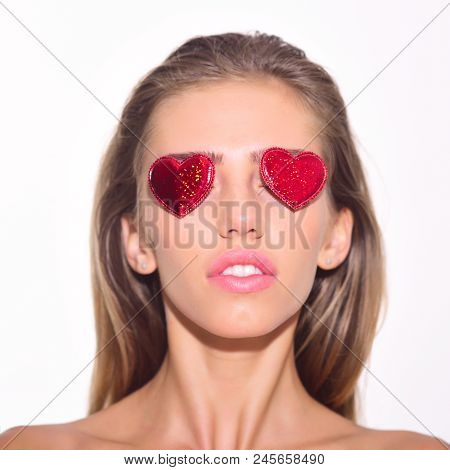 Girl With Hearts On Eyes. Emoji Of Sexy Girl. Emotions. Different Emotions. Feeling And Emotions. Em