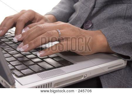 Her Laptop!