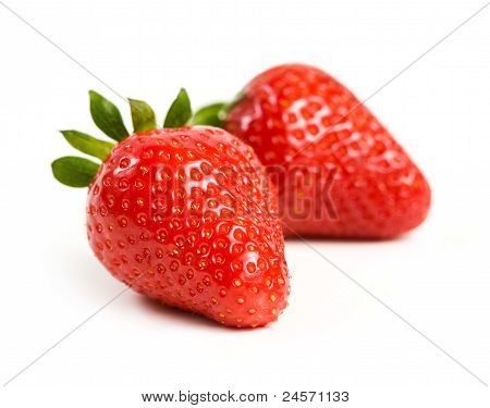 Beautiful Ripe And Fesh Strawberries.