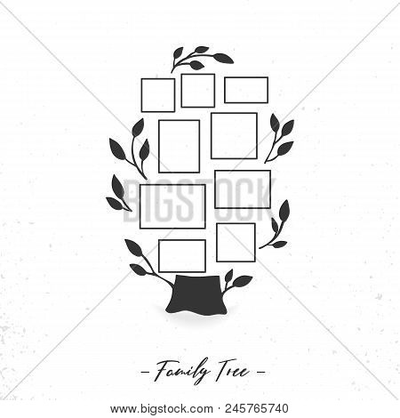 Family Tree Photo Vector & Photo (Free Trial) | Bigstock