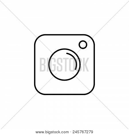 Photo Vector Icon, Symbol Photo, Illustration Photo Icon