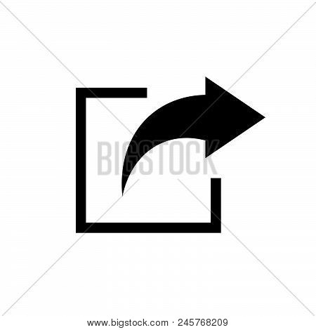 Share Icon, Simple Vector Illustration