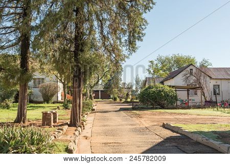 Tweespruit, South Africa - March 12, 2018: The Catholic Mission Station Where The Artist, Father Fra