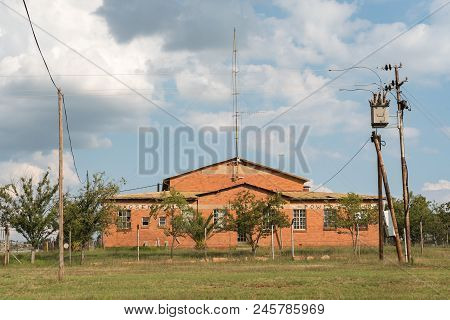 Dewetsdorp, South Africa - April 1, 2018: The Historic Power Station In Dewetsdorp In The Free State