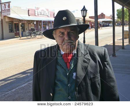 A Participant Of Helldorado, Tombstone, Arizona