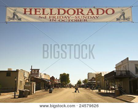 A View Of Helldorado, Tombstone, Arizona