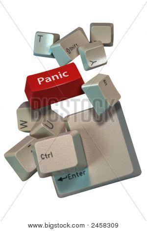 Computer Keys Panic