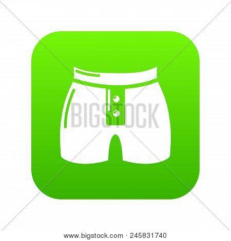 Men Brief Fashion Icon. Simple Illustration Of Men Brief Fashion Vector Icon For Web