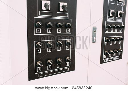 Electro Panel With Toggle Switches, Electricity Switching