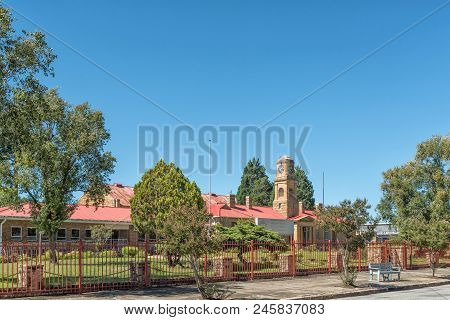 Ladybrand, South Africa - March 12, 2018: The Municipal Offices In Ladybrand, A Town In The Eastern