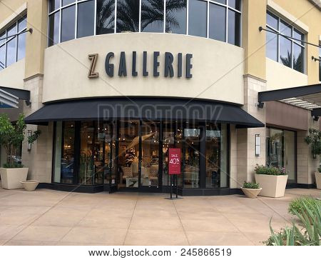 Scottsdale,Az/USA - 6.15.18: Z Gallerie is a home furnishing art & decorative accessory retail store based out of Los Angeles, California. This store chain has over 57 retail store locations.