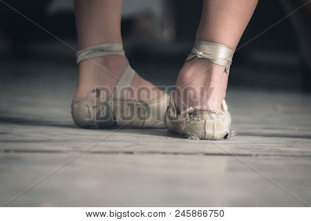 Threadbare Ballet Shoes Of Two Cuban Dancers Illustrates The Difficulty All Cubans Face With Buying