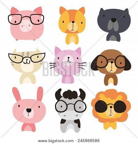 Animals Character Design, Animals Collection, Animals Wildlife