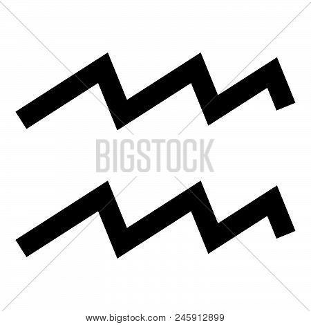 Aquarius Symbol Vector Photo Free Trial Bigstock