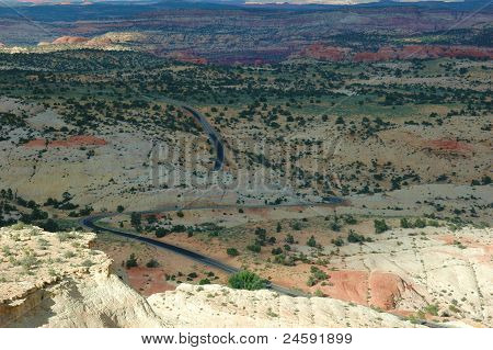 Winding Desert Road
