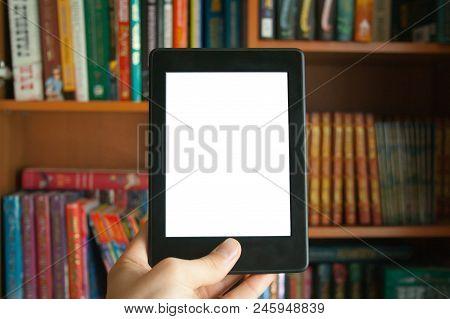 E-book In Hand Mockup