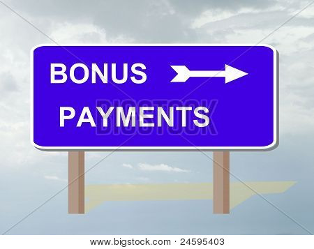 Bonus payments