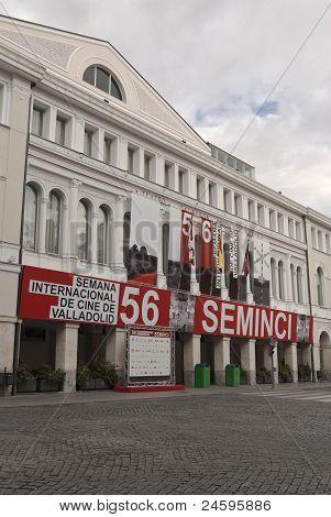 Calderon theatre in the 56st Seminci