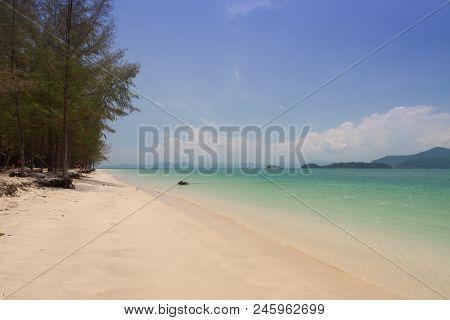 Beautiful Sea And Blue Sky At Andaman Sea,thailand