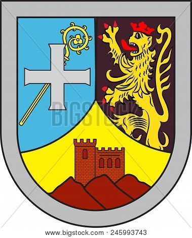 Coat Of Arms Of Annweiler Am Trifels Is A Collective Municipality In The Suedliche Weinstrasse Distr