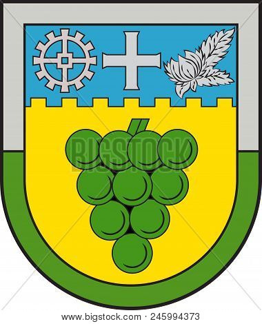 Coat Of Arms Of Landau-land Is A Collective Municipality In The Suedliche Weinstrasse District, In R