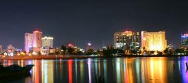 Saigon In Night