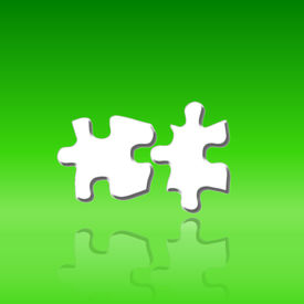 Two Jigsaws-puzzle