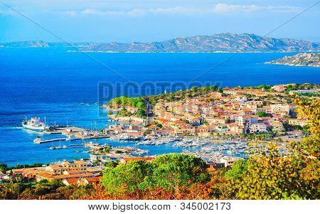 Landscape Of Palau Maddalena Island In Sardinia Reflex