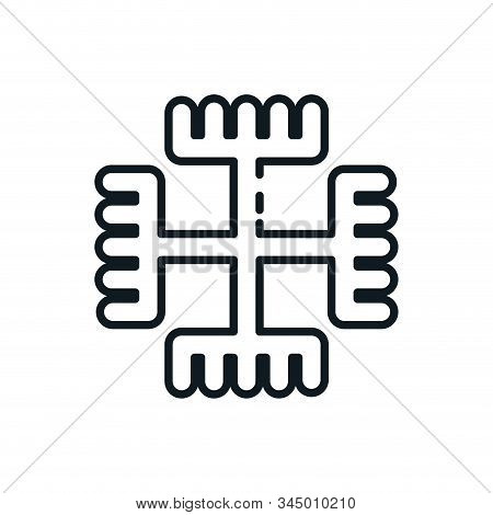 Paganism Symbol Design, Religion Culture Belief Religious Faith God Spiritual Meditation And Traditi