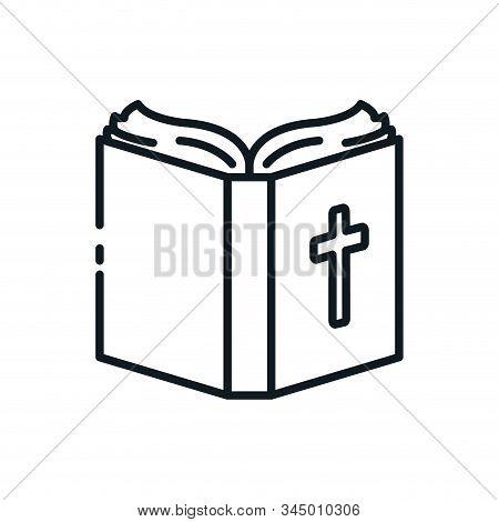 Christian And Catholic Bible Symbol Design, Religion Culture Belief Religious Faith God Spiritual Me