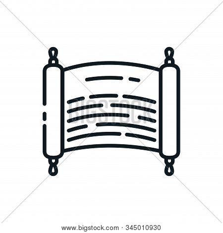Judaism Torah Symbol Design, Religion Culture Belief Religious Faith God Spiritual Meditation And Tr
