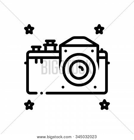 Black Line Icon For Hasselblad Camera Technology Multicopter Surveillance Discovery