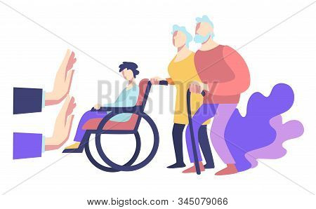 Elderly And Handicapped People And Social Refusal To Help, Public Violence
