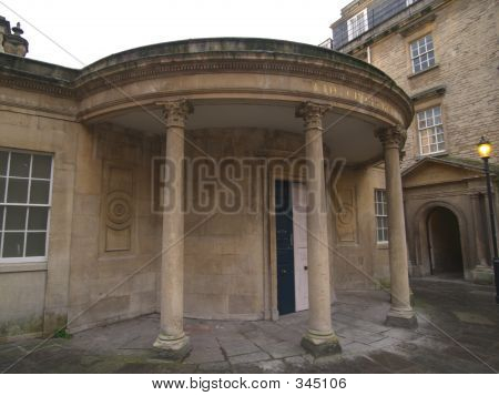 Roman Bath Structure