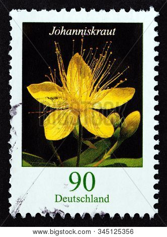 Germany - Circa 2017: A Stamp Printed In Germany From The