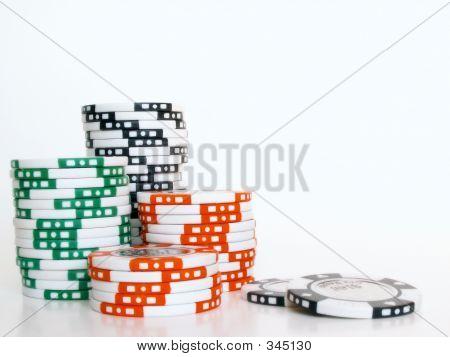 Poker Chip Stack