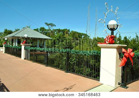Florida Botanical Gardens,, Clearwater, Florida, Usa - November 11 2011 : Florida Botanical Gardens