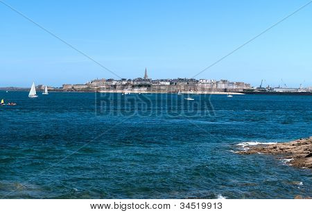 View Of Saint-malo From The Dinard