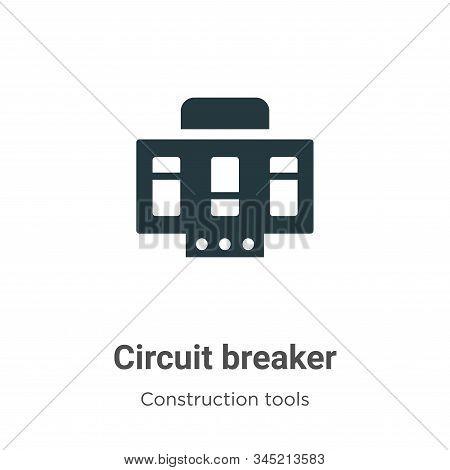 Circuit breaker icon isolated on white background from construction collection. Circuit breaker icon