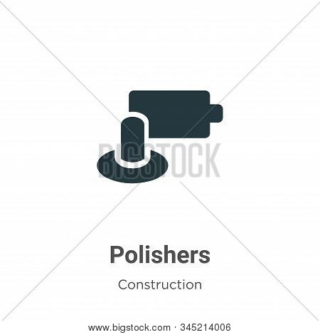 Polishers icon isolated on white background from construction collection. Polishers icon trendy and